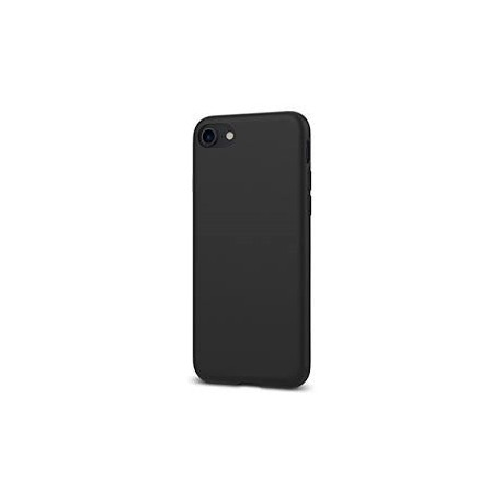 étui iPhone 7-8 Mat Noir - Liquid Crystal 2