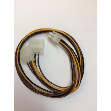Câble PCI Express 6 pins à 4 pins modulex 1,7 pieds BlueDiamond