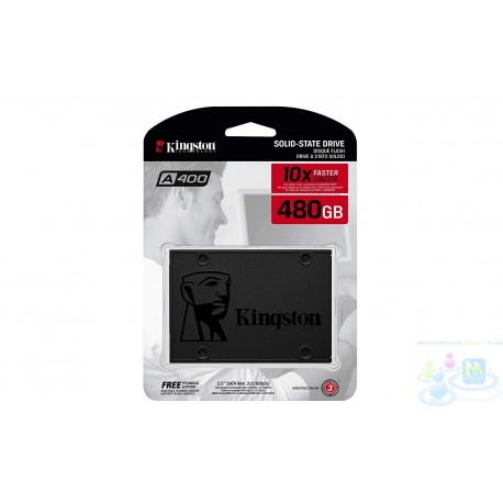 Disque dur Kingston SA400S37/480G SSD 480 Go