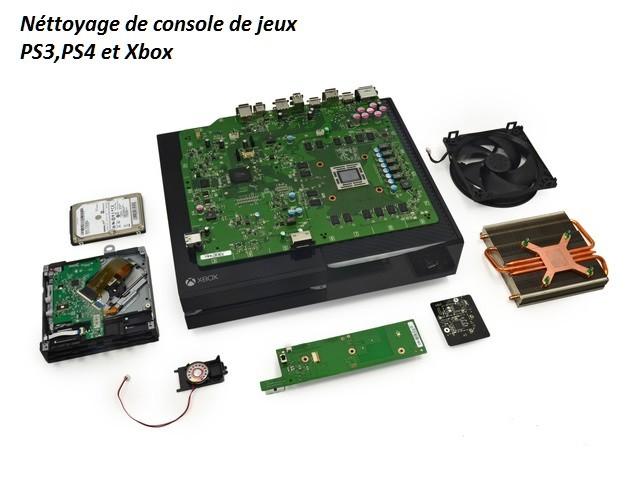 Réparation de console